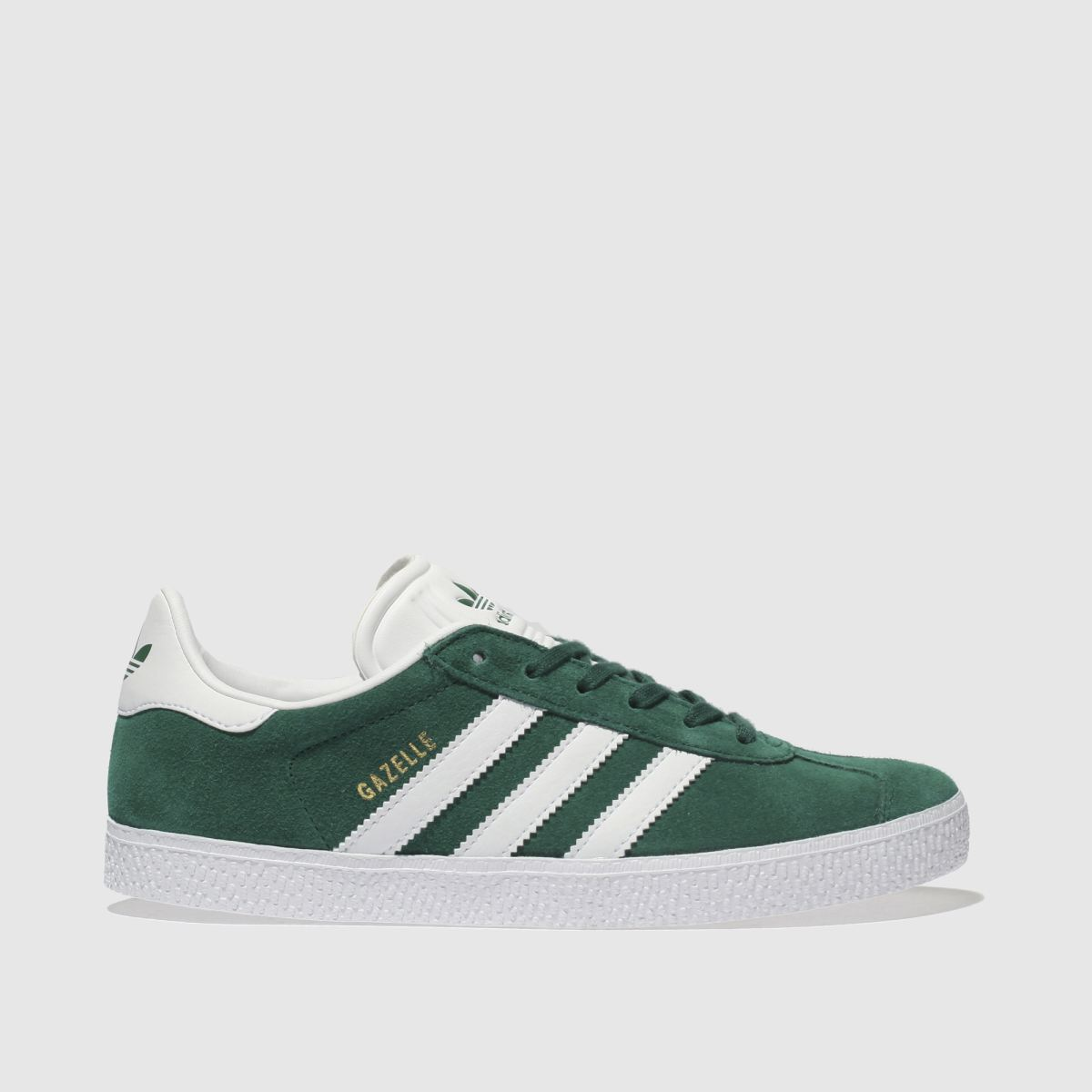 Adidas Dark Green Gazelle Trainers Youth