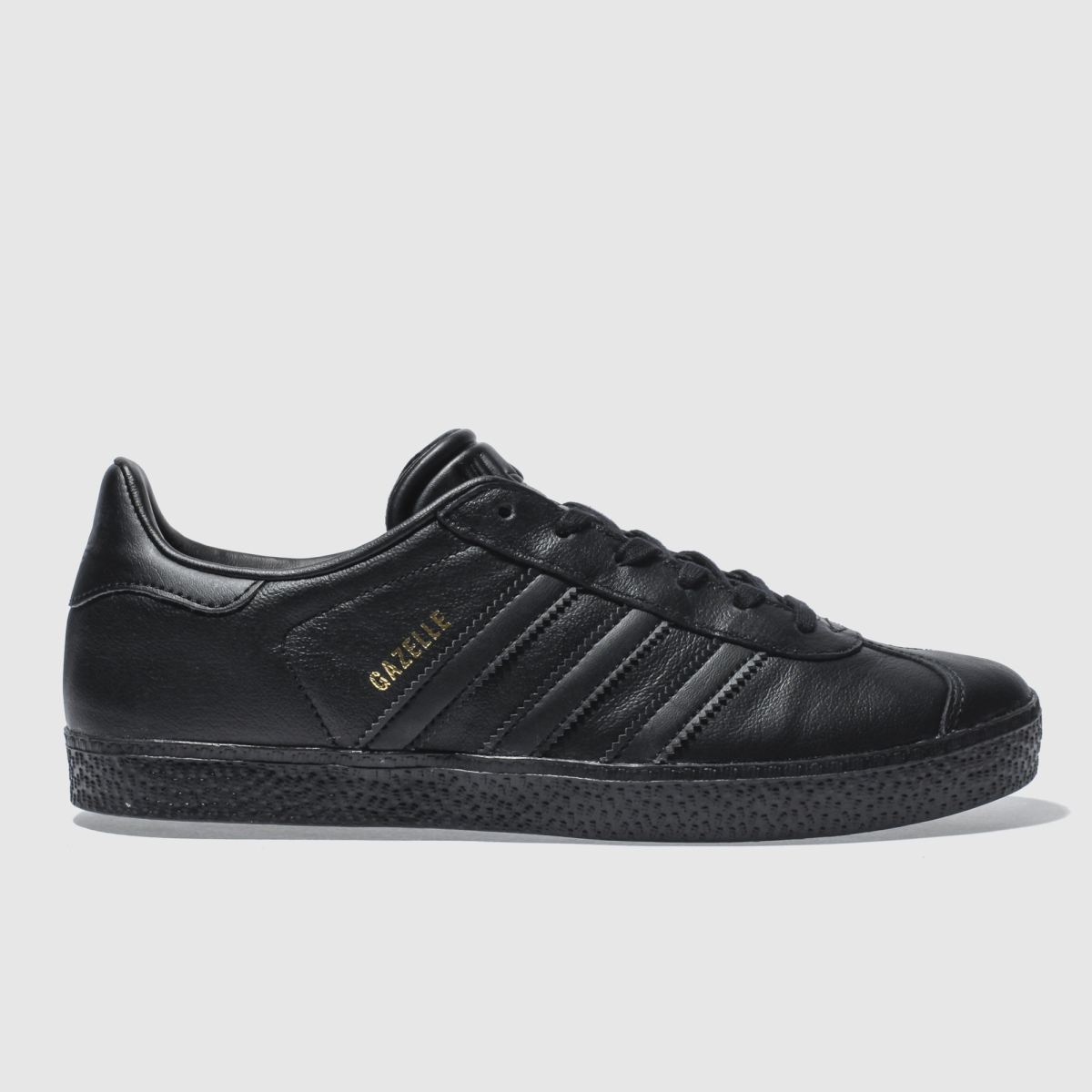 Adidas Black Gazelle Trainers Youth