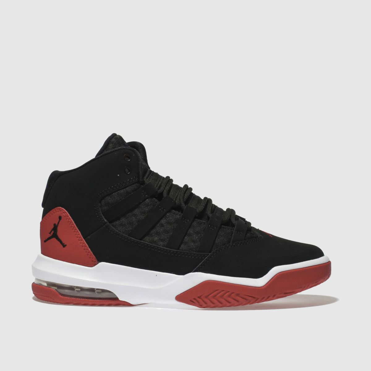nike jordan Nike Jordan  Black & Red Jordan Max Aura Youth Trainers