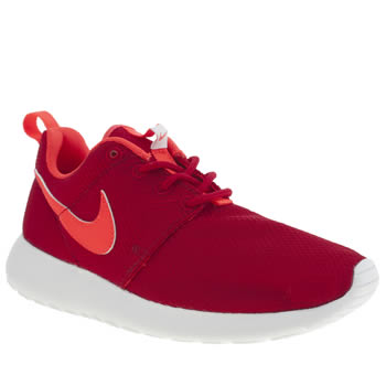 Nike Red Roshe Run Unisex Youth