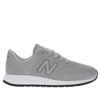 New Balance Light Grey 420 Unisex Youth