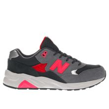 New Balance Grey 580 Unisex Youth