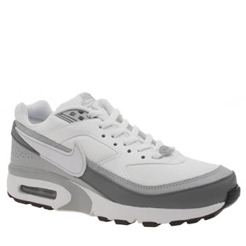 Nike White & grey Air Max Bw Unisex Youth