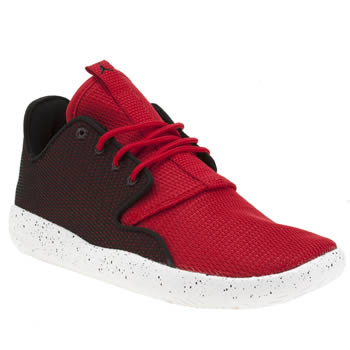 Nike Jordan Black & Red Eclipse Unisex Youth