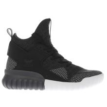 Adidas Black Tubular X Primeknit Unisex Youth