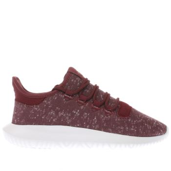 Adidas Burgundy Tubular Shadow Unisex Youth