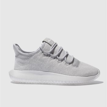 Adidas Light Grey TUBULAR SHADOW Unisex Youth