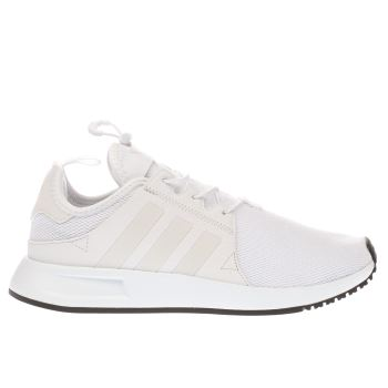 kids adidas white x_plr trainers