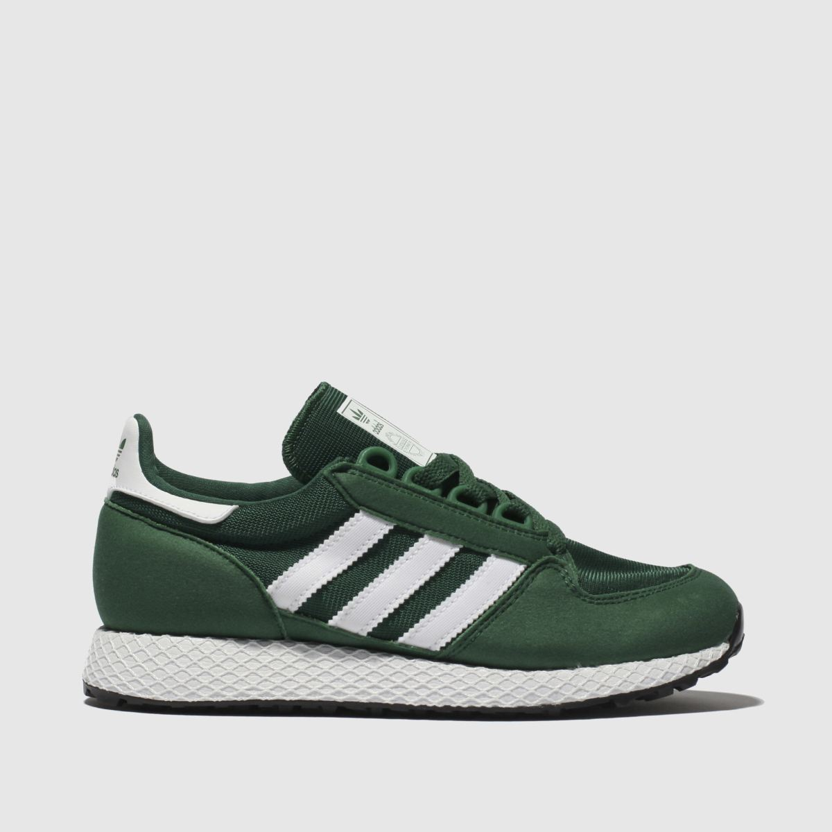 Adidas Green Forest Grove Trainers Youth