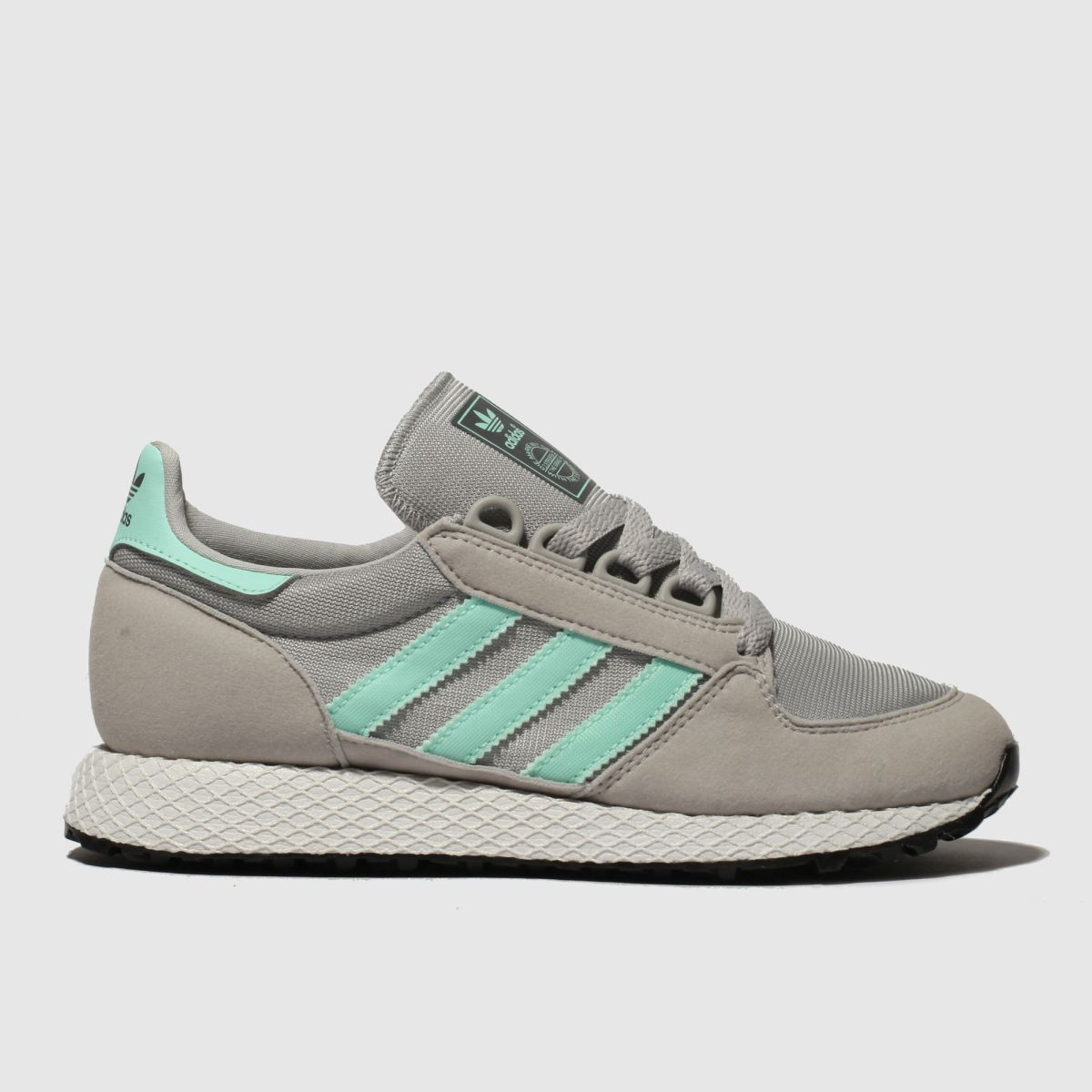 Adidas Light Grey Forest Grove Trainers Youth