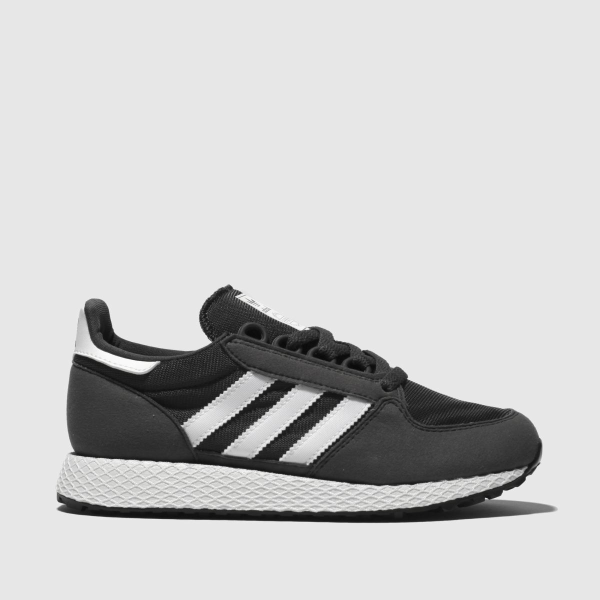 Adidas Grey Forest Grove Trainers Youth