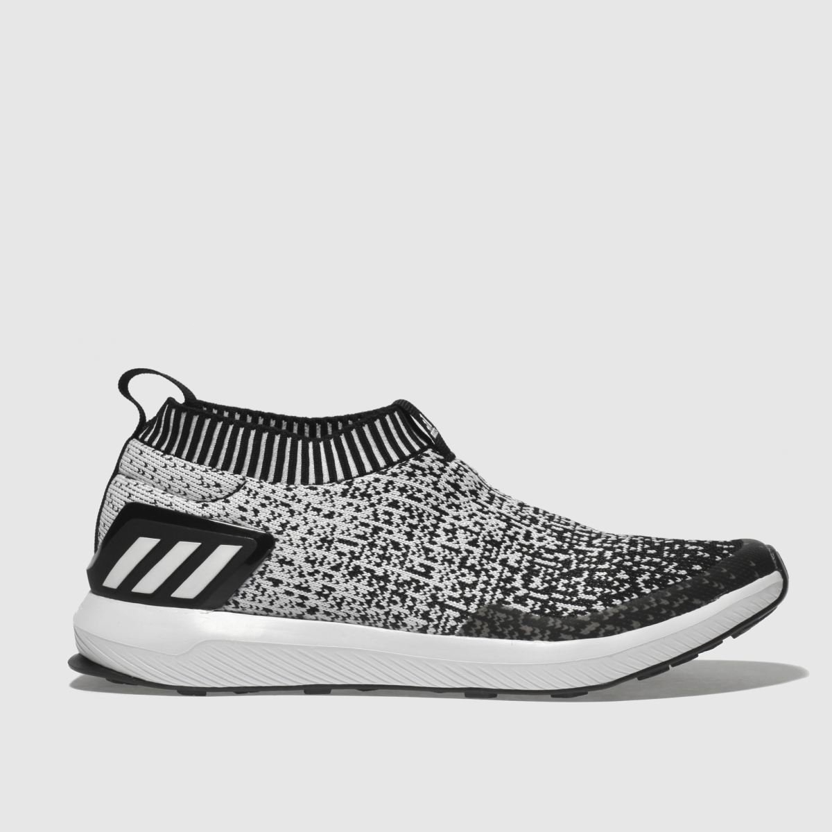 Adidas Black & White Rapidarun Unisex Youth Youth