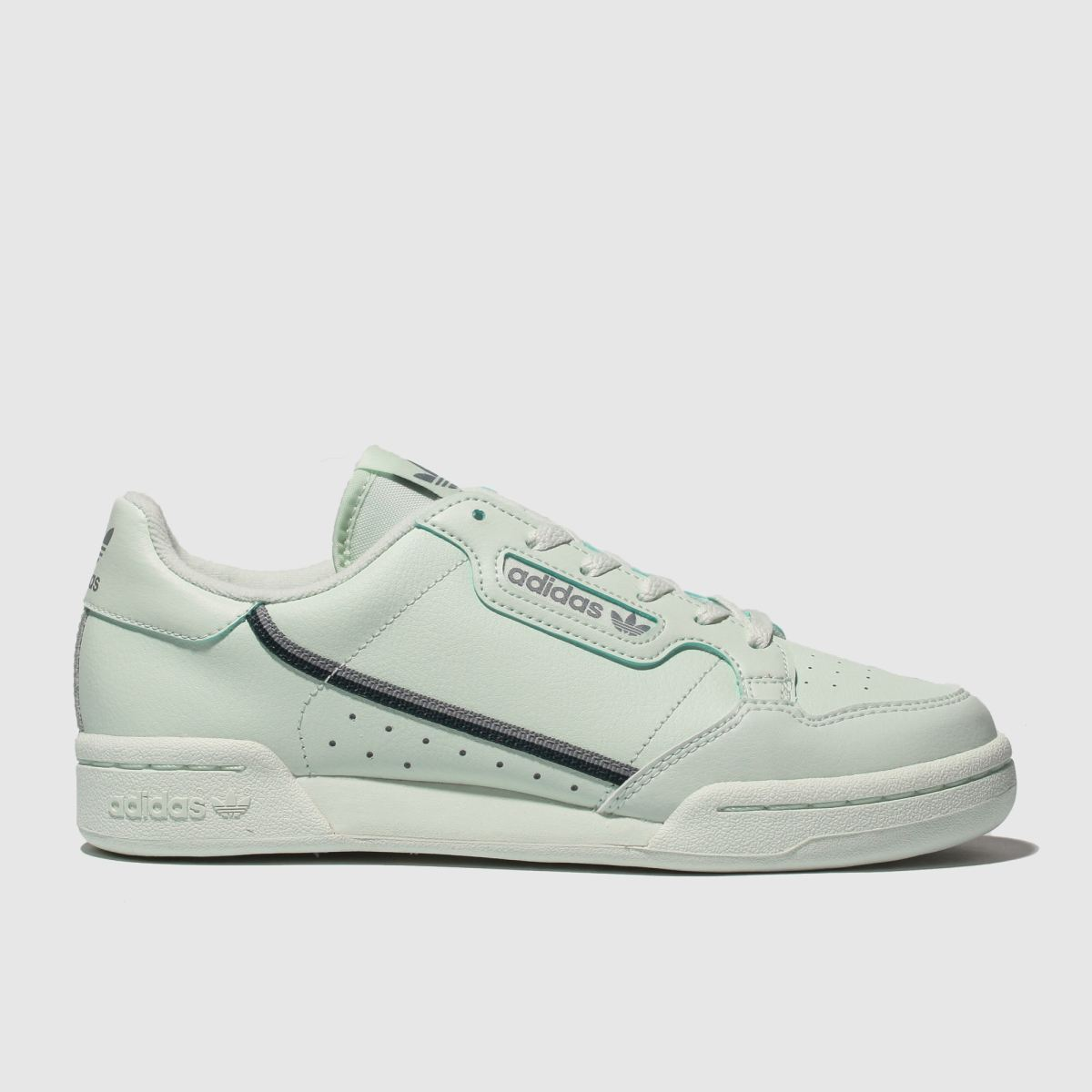 Adidas Light Green Continental 80 Trainers Youth