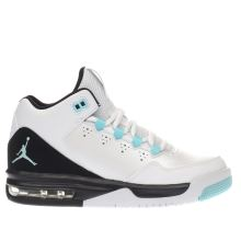 Nike Jordan White & Black Jordan Flight Origin Unisex Youth