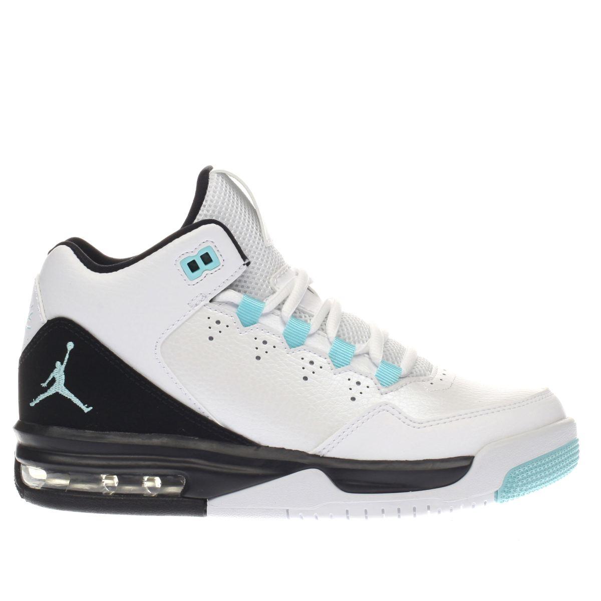 nike jordan Nike Jordan White & Black Jordan Flight Origin Unisex Youth