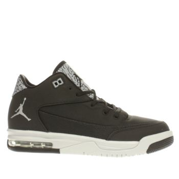 Nike Jordan Black & Silver Flight Origin 3 Unisex Youth
