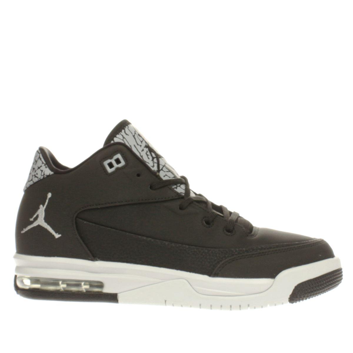 nike jordan Nike Jordan Black & Silver Flight Origin 3 Unisex Youth