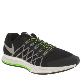 Unisex Nike Black & Silver Zoom Pegasus 32 Flash Unisex Youth