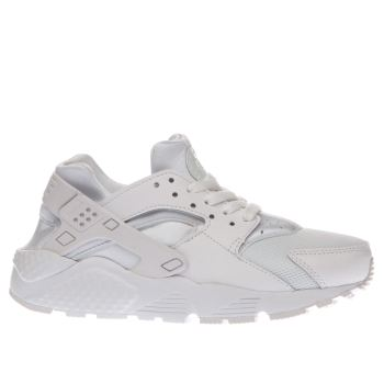 Nike White Huarache Run Unisex Youth