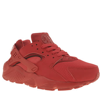 Nike Red Huarache Run Unisex Youth