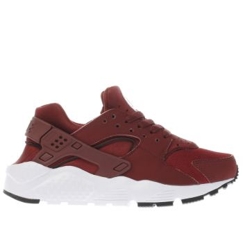 Nike Burgundy Huarache Run Unisex Youth