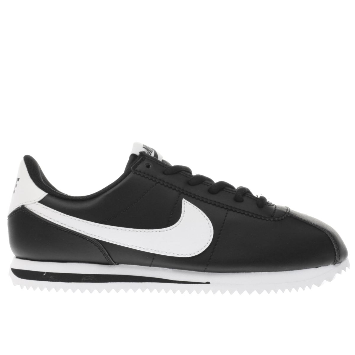 nike black cortez basic Youth Trainers