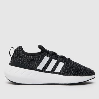 Nike Black & White Cortez Unisex Youth