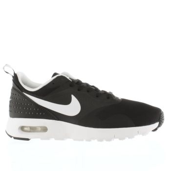 Nike Black & White AIR MAX TAVAS Unisex Youth