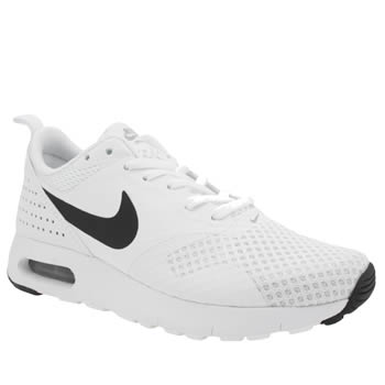 Nike White & Black Air Max Tavas Br Unisex Youth