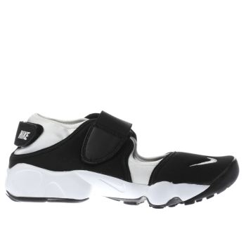 Nike White & Black Rift Unisex Youth