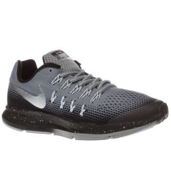 Nike Grey Zoom Pegasus 33 Unisex Youth