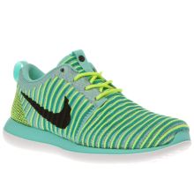 Nike Turquoise Roshe Two Flyknit Unisex Youth