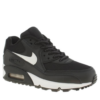 Nike Black & White Air Max 90 Flash Unisex Youth
