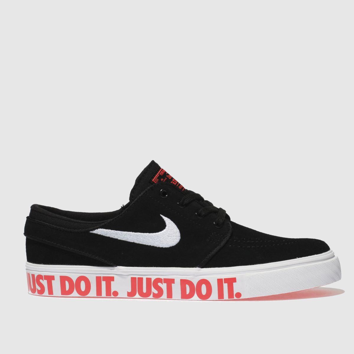 Nike SB Nike Sb Black & White Stefan Janoski Jdi Youth Trainers