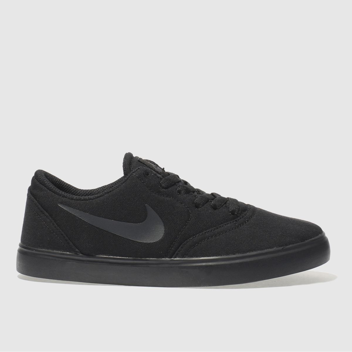 nike sb black check canvas Youth Trainers