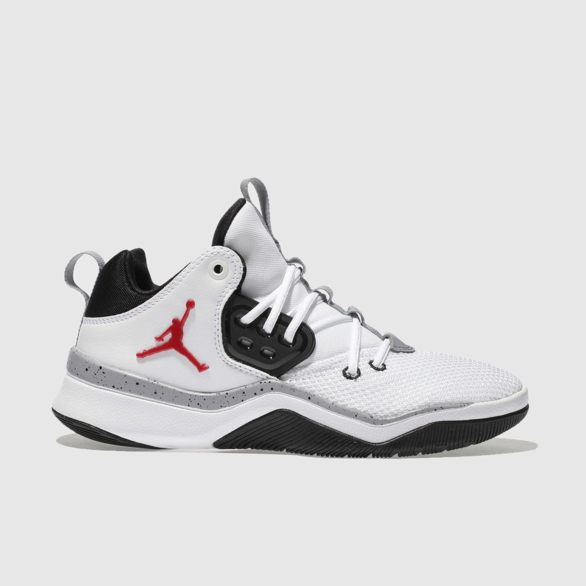 Nike Jordan White & Red Dna Youth Trainers