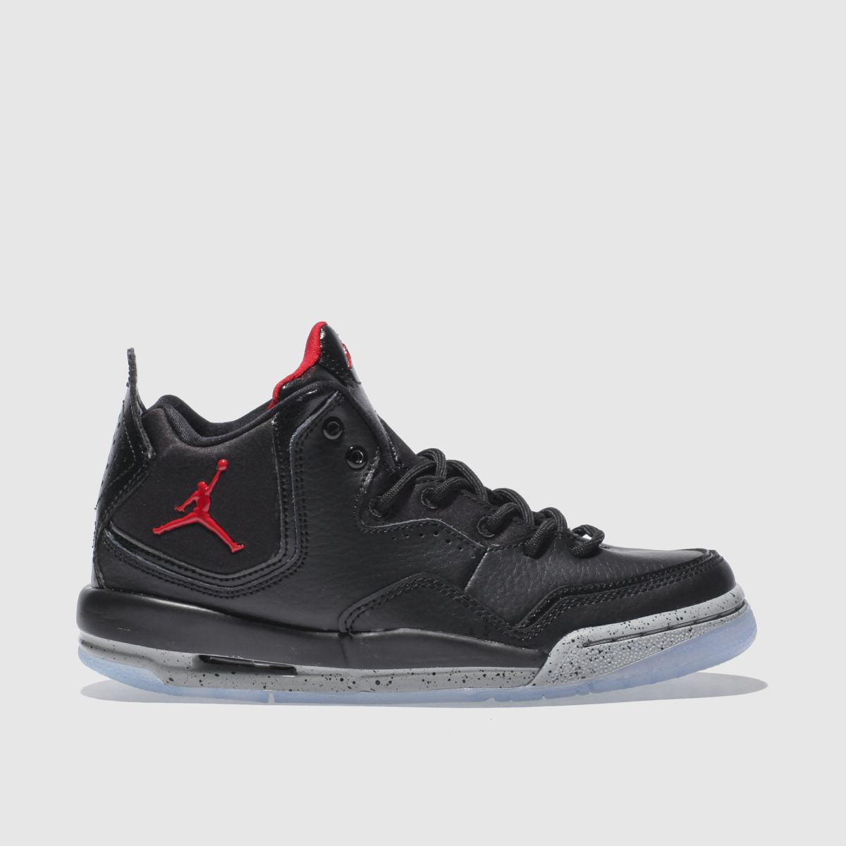 Nike Jordan Black & Red Courtside 23 Youth Trainers