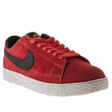 Youth Red Nike Blazer Low