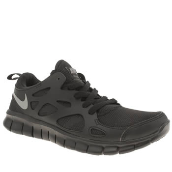 Nike Black Free Run 2-0 Unisex Youth
