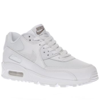 Nike White Air Max 90 Mesh Unisex Youth