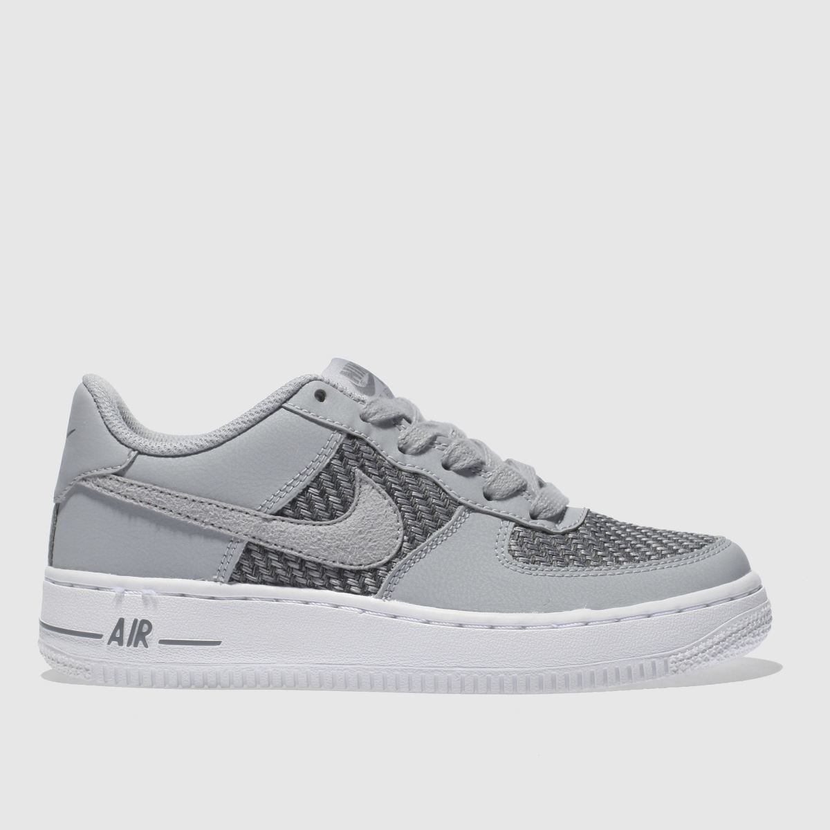 Nike Light Grey Air Force 1 Unisex Youth Youth