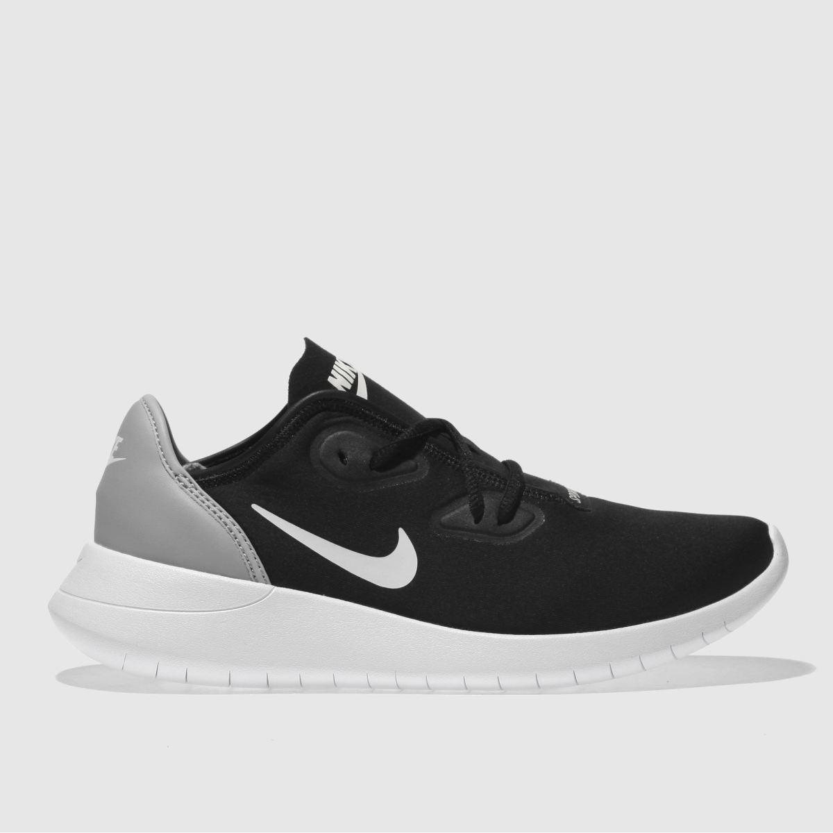Nike Black & Grey Hakata Youth Trainers
