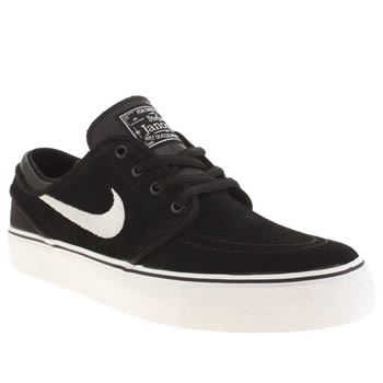 Nike Skateboarding Black & White Stefan Janoski Unisex Youth