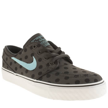 Nike Skateboarding Grey & Black Stefan Janoski Unisex Youth