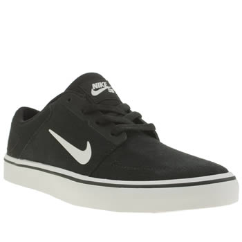 Nike Skateboarding Black & White Portmore Unisex Youth