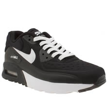 Nike Black & White Air Max 90 Ultra Se Unisex Youth