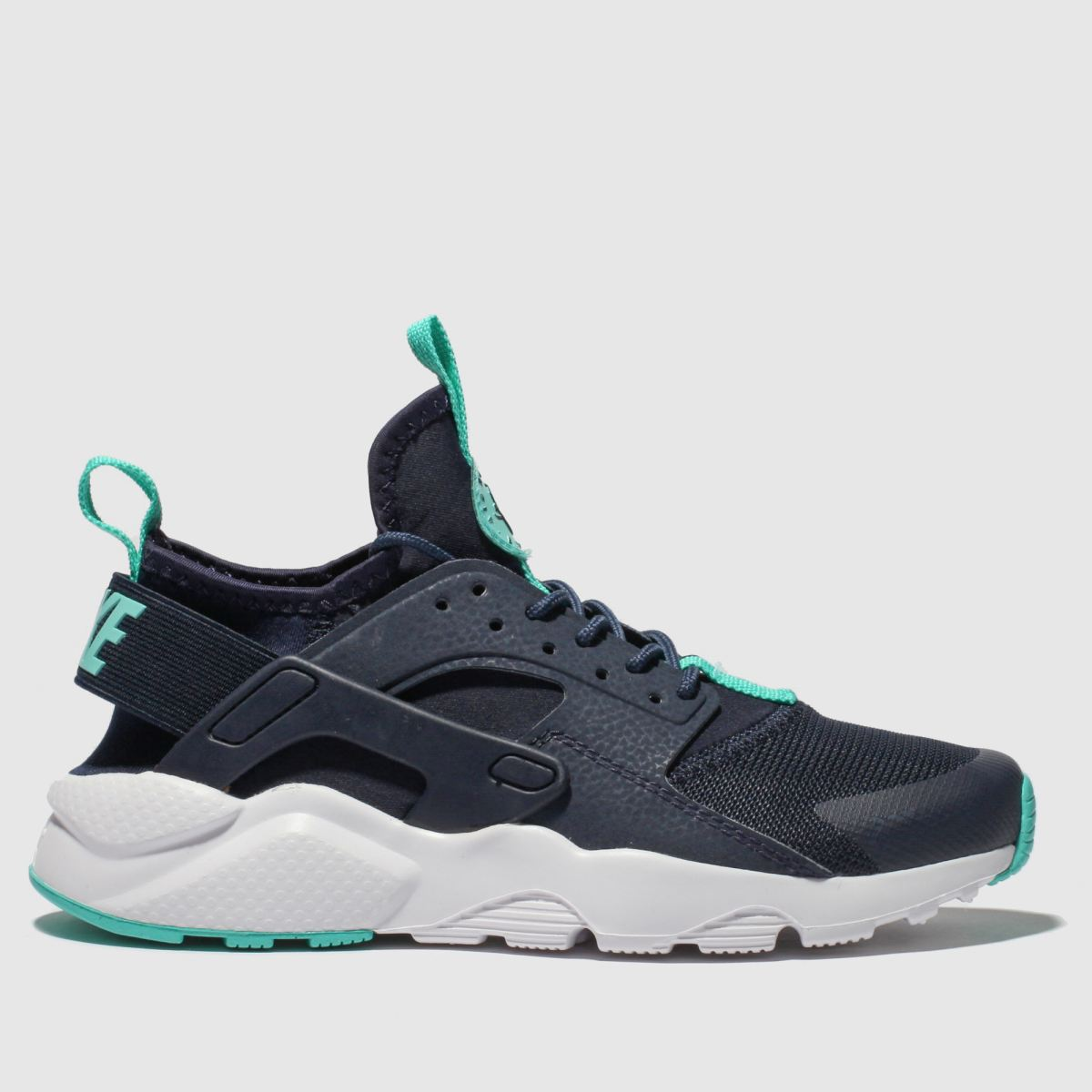 Nike Navy & Pl Blue Air Huarache Ultra Trainers Youth