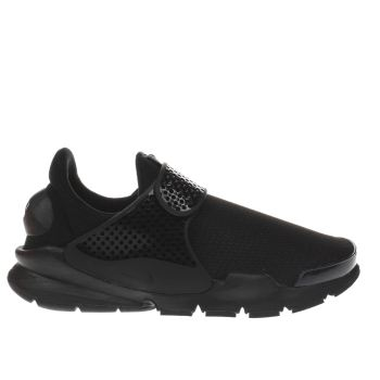 NIKE BLACK SOCK DART YOUTH TRAINERS