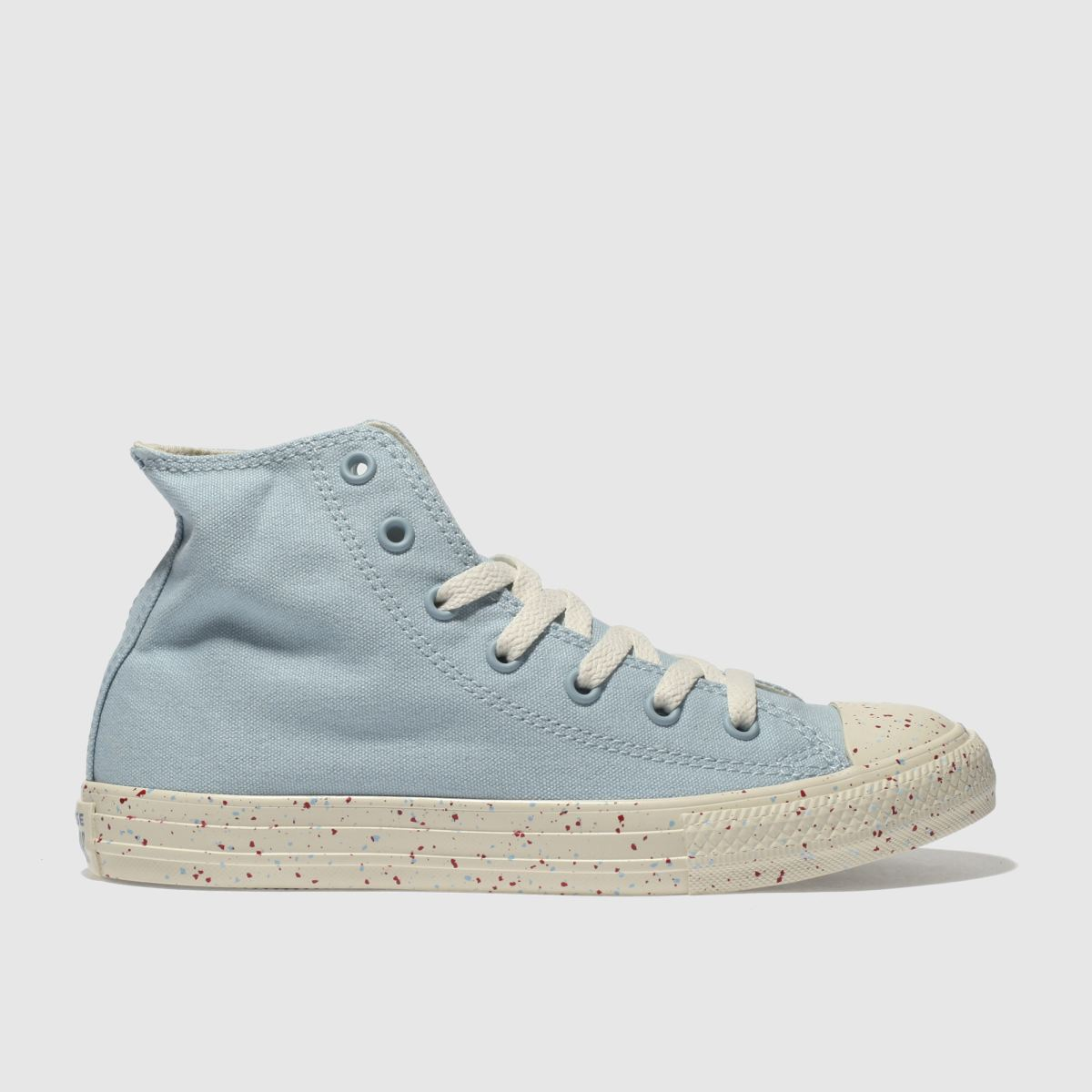 Converse Pale Blue Chuck Taylor All Star Hi Trainers Youth