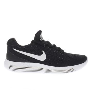 Nike Black Lunarepic Low Flyknit Unisex Youth